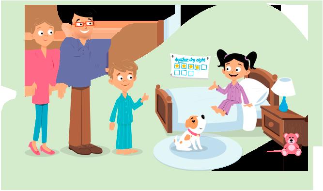 La contención emocional, por parte de la familia, es muy importante para los niños que padecen esta condición.